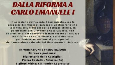 Photo of 3 dicembre 2017: #domenicalmuseo con CoopCulture a Saluzzo