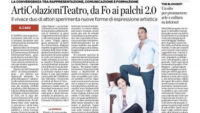 Photo of Amanda Fagiani e Giovanni Cammalleri intervistati da Marco Vallarino per Il Secolo XIX